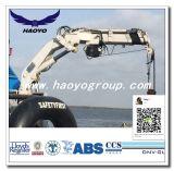 Grue télescopique hydraulique pour le navire et plateforme offshore