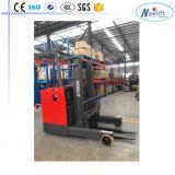 China 2.5t 2000kg Stehen-auf Reichweite-LKW mit Triplex 8.0m Mastchina Reichweite Truckelectric Gabelstapler