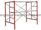 Andamio pintado o galvanizado del marco de la escala del marco principal para la construcción