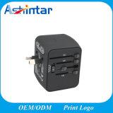 旅行アダプターインターナショナルユニバーサル力のアダプターオールインワン4 USBの世界的な壁の充電器