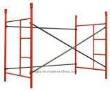 Longue durée de service acier Powder-Coated Mason échafaudage de châssis de l'échelle