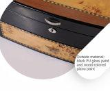 Stilvoller vorzüglicher Speziell-Konzipierter schwarzer Schmucksache-Uhr-Luxuxkasten
