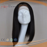 Cabello piel blanca Seda Top mujer peluca (PPG-L-01511)