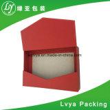 La fábrica modifica la caja de embalaje de empaquetado del papel para requisitos particulares de rectángulo de regalo del té del rectángulo del té de papel
