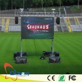 Visualización de LED grande al aire libre del estadio de fútbol P10