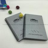 Agenda de encargo de la escuela del cuaderno espiral de la buena calidad inmóvil