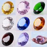 Diamant transparent Shinning de verre cristal pour le presse-papiers