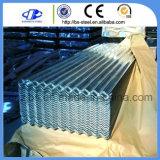 屋根ふきシートの波形を付ける鉄シートのロールによって電流を通される鋼板