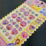 De in het groot Acryl Bevroren Stickers van het Bergkristal van het Kristal Beeldverhaal voor Jonge geitjes