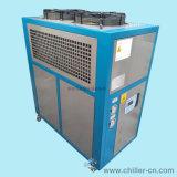 4rt Enfriado por Aire Industrial Enfriador de agua para inyección Mahines