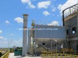 Filtro a sacco nella linea di produzione del cemento