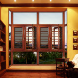 Het super Openslaand raam van het Aluminium van de Veiligheid van de Kwaliteit met het Scherm van het Insect