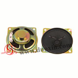 Popular Plaza 66mm 4ohms Dxyd Altavoces de cono de papel de 0,5 W66N-18Z-4A-F