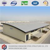 Sinoacmeのアルジェリアの現代軽い鉄骨構造の倉庫