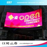 P5mm di alta risoluzione impermeabilizzano lo schermo di visualizzazione del LED di pubblicità esterna