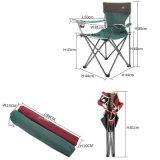 高級な肘掛け椅子の赤い折りたたみ椅子