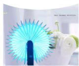 Mini altoparlante di legno variopinto flessibile dell'indicatore luminoso del libro della lampada LED Bluetooth della Tabella