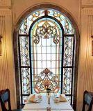 Venda por grosso de painéis de vidro manchado com design de Arte