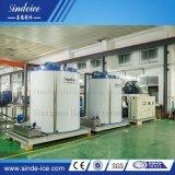 Shenzhen Sindeice 50t em paralelo de flocos de evaporador máquina de gelo