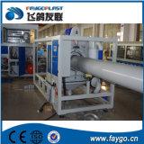 Il PVC vuota la linea di produzione del tubo di acqua