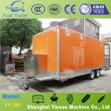 Yieson kundenspezifischer Schnellimbiss-Wohnwagen für Werbung