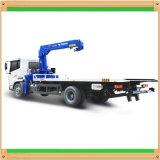 5t Isuzu hydraulische Ladung Lastwagen-Eingehangener Kran mit teleskopischer Hochkonjunktur