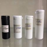 卸し売り食品等級100ccはSGSが付いているHDPEのプラスチックタイプ容器の薬剤の丸薬をかタブレットの包装の瓶切取る