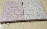 Cor cinza sólido de alumínio na parede lateral do painel de telhado de metal