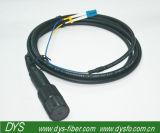 напольный водоустойчивый шнур заплаты оптического волокна Odlc