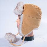 Крышки зимы шлема зимы крышки Trapper Cordury русские