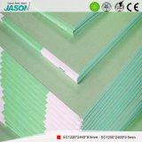 Tarjeta de yeso de alta calidad de Jason Moistureshield para el edificio Material-9.5mm