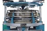 高速単一のジャージーによってコンピュータ化されるジャカード円の編む機械装置