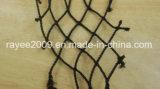 Черная Knotless сеть рыб HDPE удя снасти закрутки