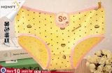 Projetos diferentes 2 dos doces bonitos da menina do algodão do roupa interior da cópia dos desenhos animados dos tamanhos cuecas bonitas das meninas de Panty