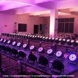 Indicatori luminosi eccellenti di PARITÀ di RGBWA 5in1 18*15 LED per dell'interno