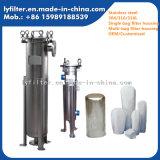 Huisvesting van de Filter van de Zak van het Type van Plaat van het roestvrij staal de Enige/Multi voor Chemische en Farmaceutische Industrie