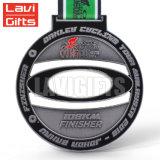 工場価格の安く卸売はカスタム高品質の金属のスポーツメダルリボンを作る