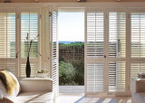 Dekoratives Belüftung-Plantage-Bi-Fold Fenster-mit Luftschlitzenblendenverschlüsse