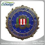 Oferta personalizada Souvenir de aleación de zinc metal moneda militar