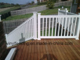 Pasamano de la escalera del PVC