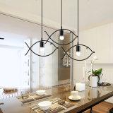 Modedesigner-Fisch-Form-Entwurfs-modernes hängendes Licht