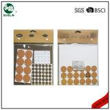 Set der Stuhl-Bein-Schutzkappen-Tisch-Fuss-Möbel-schützendes Auflage-80-90PCS