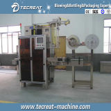 Горячая вставка ярлыка втулки PVC сбываний и застенчивый машина для прикрепления этикеток