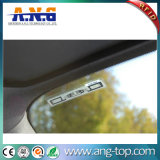 Etiqueta do carro do pára-brisa RFID da freqüência ultraelevada