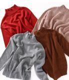 Chica del suéter de ganchillo de la moda con coloridos Nep