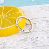 Самая новая оптовая продажа кольца белого золота партии способа типа 2017