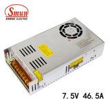 Bloc d'alimentation de Smun S-350-7.5 7.5V 46A 350W avec le ventilateur