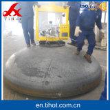 Esfera de aço macio de ferro grandes extremidades elípticos