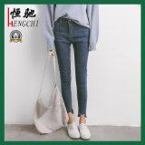 Jeans delle donne del cotone di disegno di modo di forma fisica di buona qualità
