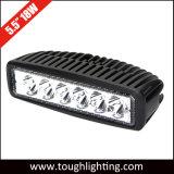"""indicatore luminoso di azionamento fuori strada sottile ovale dell'indicatore luminoso LED dell'indicatore luminoso LED del lavoro di 6 """" 18W LED"""